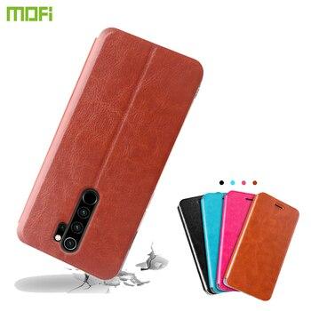 Para Xiaomi Redmi Note 8T funda MOFI Flip PU Funda de cuero para Xiaomi Redmi Note 8T funda estilo libro