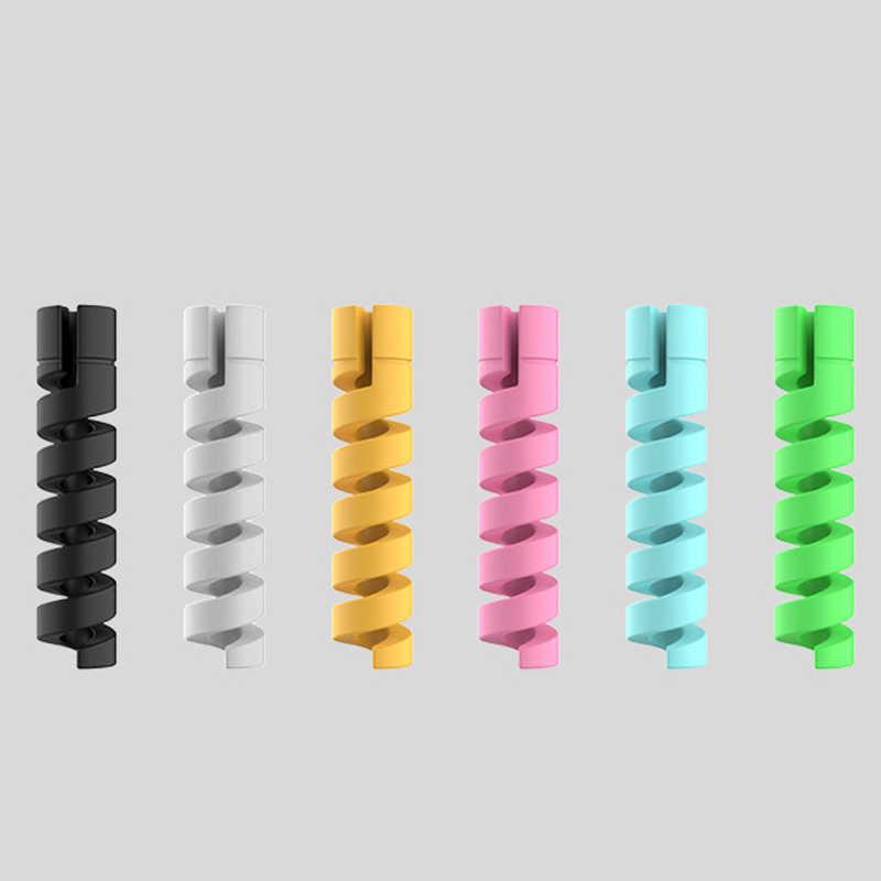 2 шт зарядный кабель Защитная крышка для Apple Зарядное устройство USB для iPhone кабель Шнур восхитительный защитный рукав для телефонный кабель