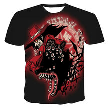 Spring and summer 3D horror skull series T-shirt fashion cool and antipyretic T-shirt new arrival in 2021