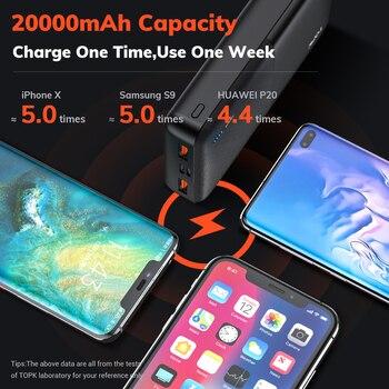 TOPK I2009Q внешний аккумулятор 20000 мАч