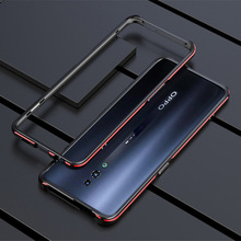 For OPPO Reno 2 Case Metal Frame Double Color Aluminum Bumper Protect Cover for OPPO Reno 2 Reno2 Phone Case