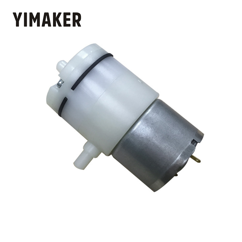 YIMAKER DC 3-24V Micro Vacuum Pump Mini Electric Suction Pumps Wear-Resistant For Electric Breast Pump Vacuum Packaging Machine