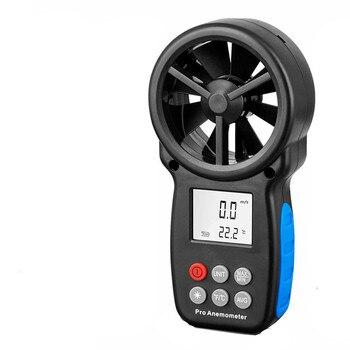 PT625A Protmex Digital Anemometer Wind Speed Meter Air Volume Measurer Air Humidity Flow Meter