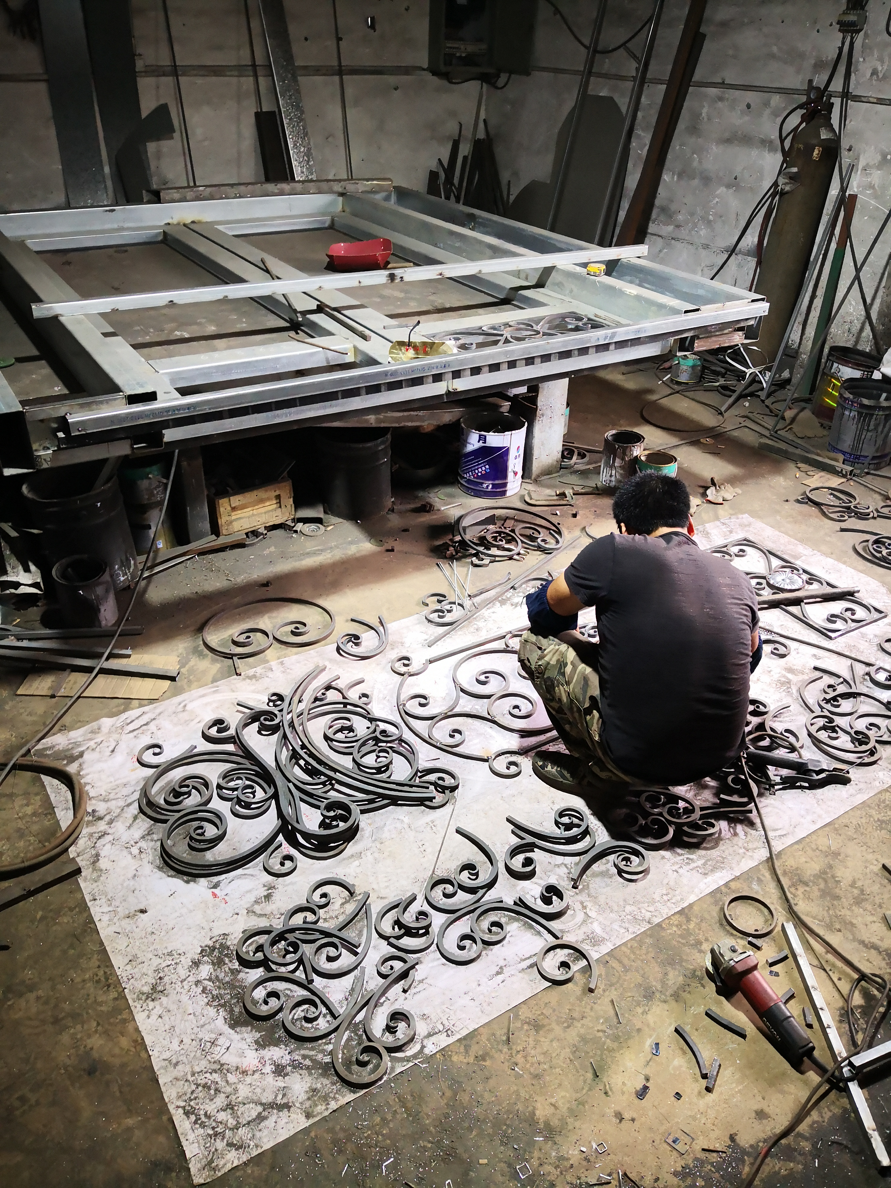 Shanghai Hench Brand China Factory 100% Custom Made Sale Australia Front Door Steel Gate
