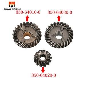 Комплект подвесных передач двигателя для Tohatsu 2 stoke 18HP 350-64020-0 шестерни и 350-64030-0 заднего хода и 350-64010-0 передних передач 3 шт.