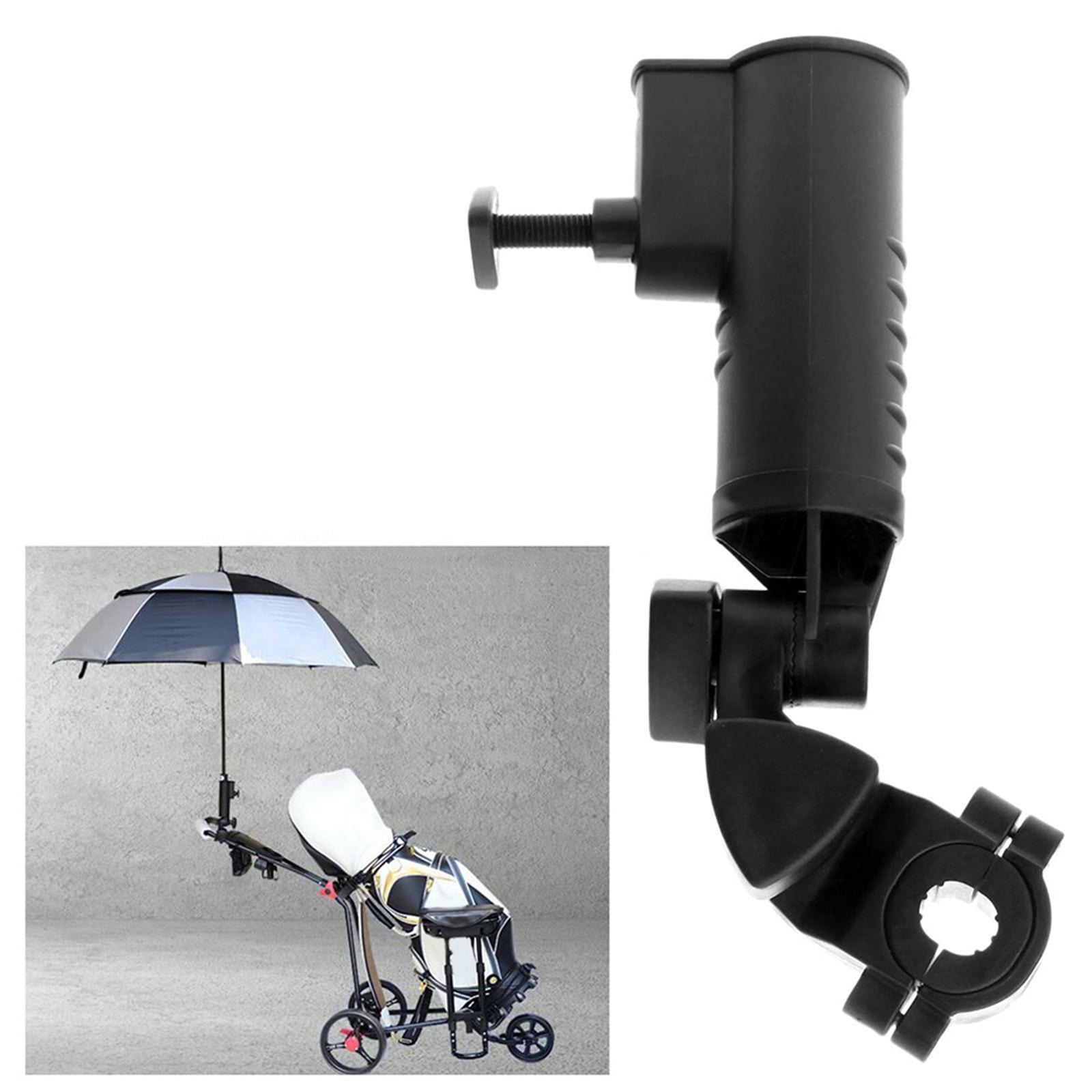 Golf Cart Umbrella holder Umbrella Stand Rotatable Knob Adjustable Universal Umbrella Holder Fit for Golf Cart