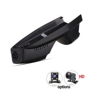 Wifi app manipulação câmera do carro dvr para ford escape kuga geral modelo 2013 2015 2017 2018 controle de câmera dupla por aplicativo móvel