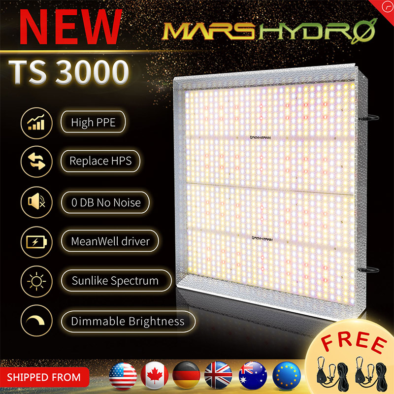 Mars Hydro TS 3000W Led Grow Light Full Spectrum Sunlike Indoor Quantum Board Grow Lamp Led Greenhouse Grow Tent For Plants