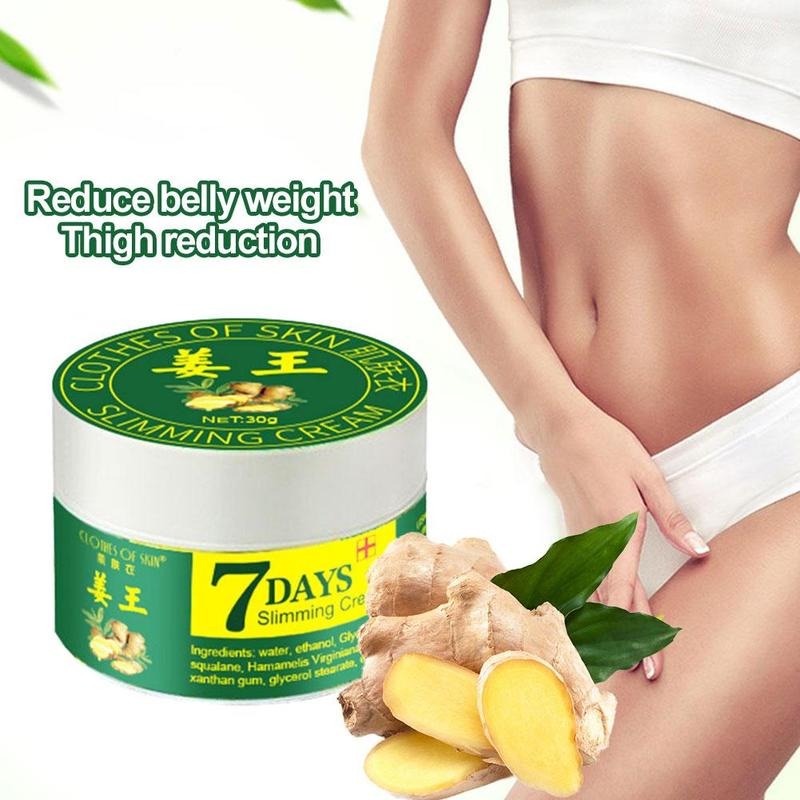 30ml Ginger Slimming Creams Leg Body Waist Effective Anti Cellulite Fat Burning 7 Days Weight Loss Slimming Cream