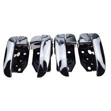 4PCS Neue Chrome Vorn Hinten Links Rechts Innen Tür Griffe für Hyundai Sonata 01-05 82610-3D010 826203D010