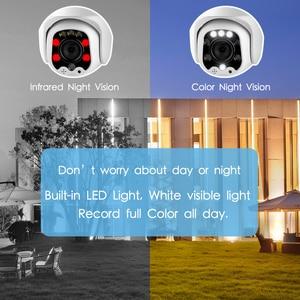 Image 5 - Inesun 1080P PTZ Wireless IP Kamera Im Freien Mini WiFi Sicherheit Speed Dome Kamera AI Auto Tracking Farbe Nachtsicht CCTV Kamera
