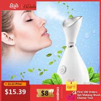 Tiefe Reinigung Nano Ionischen Gesichts Reiniger Schönheit Gesicht Dampfenden Gerät Gesichts Dampfer Maschine Gesichts Thermische Sprayer Hautpflege Werkzeug
