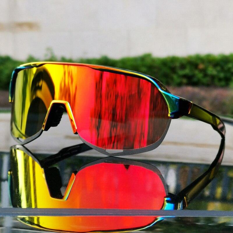 S2 Sagan Fietsen Brillen Fietsen Zonnebril Voor Mannen En Vrouwen Bicicleta Gafas Ciclismo Fietsen Bril Fietsen Zonnebril 3 Lens
