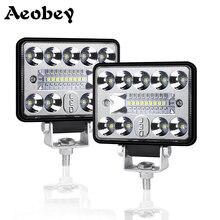 12V 54W Wrok אור Led בר LED Lightbar 3030 LED 18SMD עבור משאית טרקטור SUV 4x4 רכב Led פנסי תאורת ספוט עבודה בר