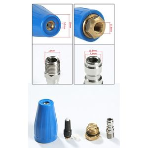 Image 5 - 360 Rotating Turbo Nozzle High Pressure Washer 3600PSI with 1/4 Quick Connector Car Washer Car Wash & Maintenance