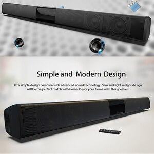 Image 4 - Barra de som estéreo wireless bluetooth de 20w, alto falantes de home theater, barra de som para tv, sistema de som surround duplo, subwoofertas