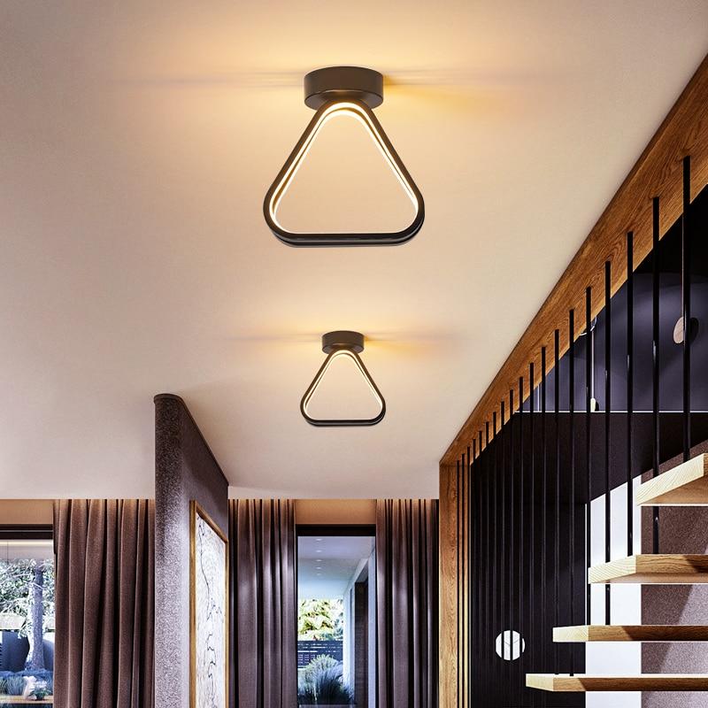 Platz/Runde Moderne LED Decke Lichter für schlafzimmer nacht lampe korridor gang balkon minimalistischen veranda Led decke Lampe hause