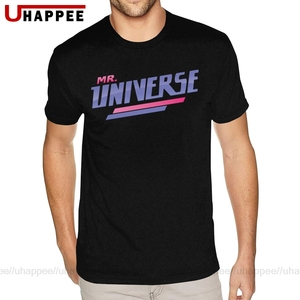Cool Mr Steven Universe T Shirts Men's Personalized Short Sleeved Heavy Cotton Crew Tees(China)