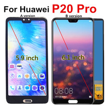 P20 Pro LCD Für Huawei p20 pro LCD Display Touchscreen CLT L09 L29 AL01 Montage Digitizer für huawei P20 Plus lcd P20Pro