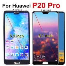 P20 pro lcd para huawei p20 pro display lcd de tela toque CLT L09 l29 al01 assembléia digitador para huawei p20 mais lcd p20pro