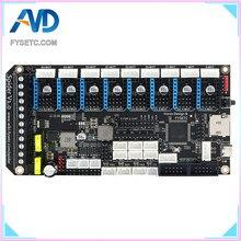 Przedsprzedaż FYSETC Spider V1.0 płyta główna 32Bit płyta kontrolera TMC2208 TMC2209 część drukarki 3D wymienić SKR V1.3 dla Voron