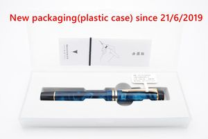 Image 5 - Moonman pluma estilográfica de resina acrílica M600S, iridio F, pluma de tinta de punta, caja Original