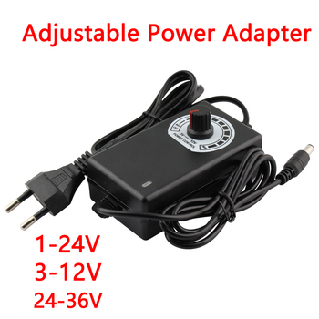 AC DC Adapter 3V-12V 1-24V 24-36V 2A DC 220V Universal Adjustable Power adapter Supply 24v for led lamp 24v plug power supply dc 24v 2a 48w switching power adapter 24v 2a 48 watts voltage converter regulated switch power supply for led