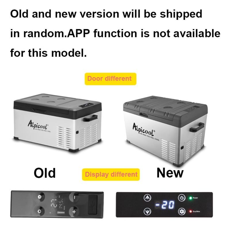 30/40/50L Авто ACDC12/24V Мини Портативный компрессор для пикника на открытом воздухе на колесах для путешествий и дома, автомобильный холодильник глубокая заморозка холодильник 2