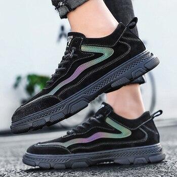 Zapatos casuales cómodos vulcanizados para Hombre, Zapatillas de baloncesto, Deportivas