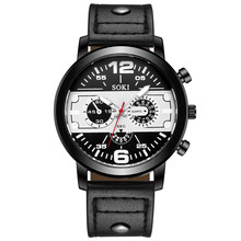Women Watches Male Fashion Leather Band Quartz Wristwatches Business Mens Watches Top Brand Luxury Watches Ladies Watch