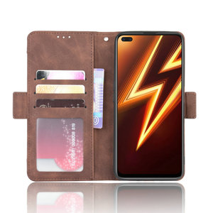 Image 3 - Leather Wallet Removable Card Slot Phone Shell for OPPO Realme 6 Pro Flip Case Realme 6i 6s 6Pro Luxury Case Real Me 6 i 6 s i6