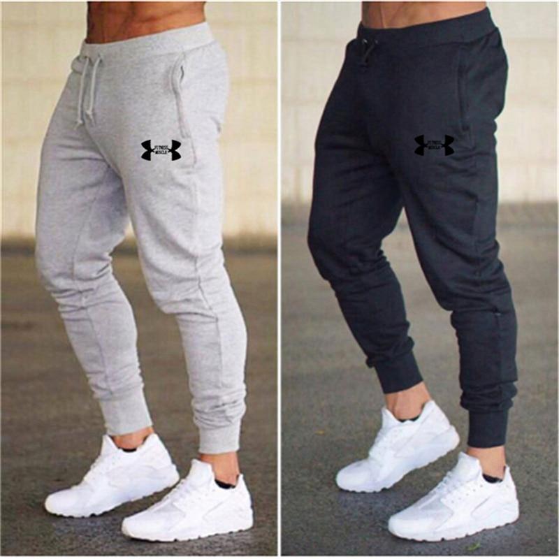 2019 Spring Men Jogging Pants Solid GYM Training Pant Sportswear Joggers Sports Pants Men's Running Swearing Jogging Sweatpants