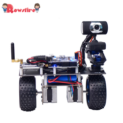 Программируемый Интеллектуальный баланс автомобиля WiFi видео робот автомобиль Поддержка iOS/Android приложение ПК Пульт дистанционного управле...