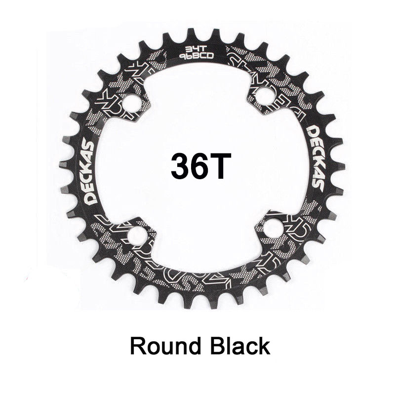 MTB Bicycle Chainring BCD96mm 32//34//36//38//40T Chainwheel Single plate Chain Ring