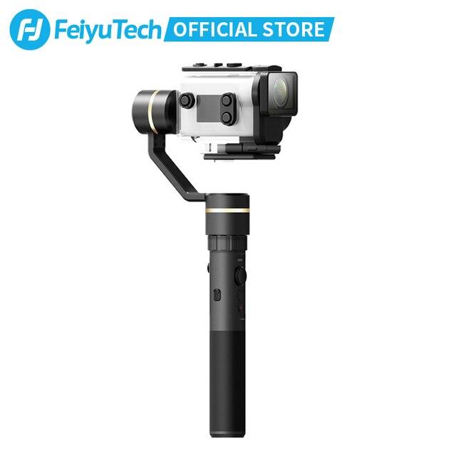 FeiyuTech G5GS odporny na zachlapanie kardana ręczna stabilizator dla Sony AS50 AS50R Sony X3000 X3000R kamera akcji rosyjski magazyn