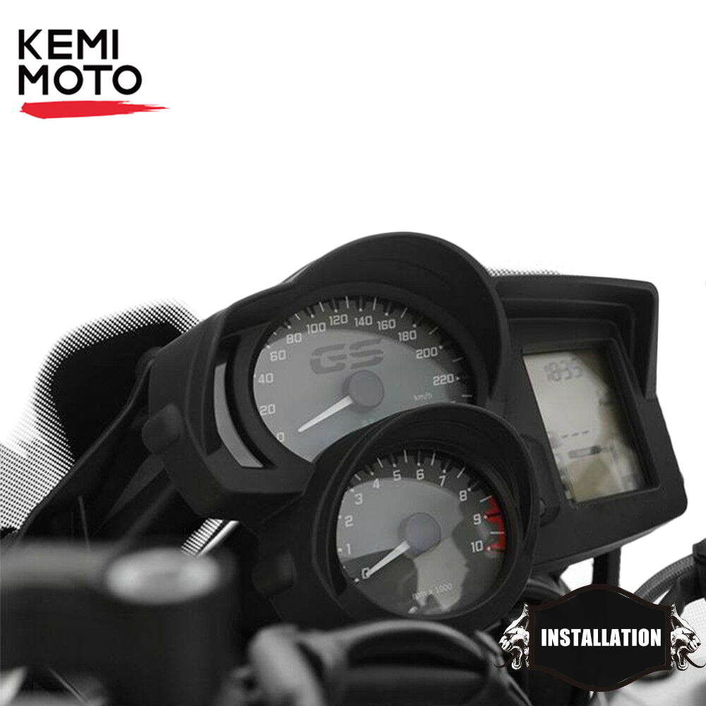 Motorcycle Speedometer Tachometer Cover Shading Protector for <font><b>R1200R</b></font> F800GS F700GS F650GS ADV Adventure 2013-2018 F800GT image