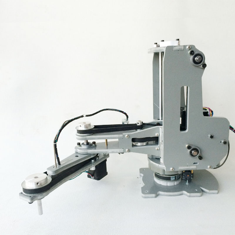Robotic Arm Articulated Motor Stepper Scara 2kg Plane Load Teaching Arm-4-Axis Can-Be-Lightweight