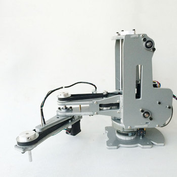 2kg Load Plane Articulated Robot Arm 4-Axis Stepper Motor Four-Axis Scara Robotic Arm Teaching Robot Can Be Lightweight
