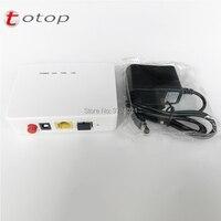 24Pcs XPON Fiber device ONU 1GE GPON EPON 1port ONU ONT 1G RJ45 OLT 1.25G Gpon ZTE Chipset Modem, With power adapter
