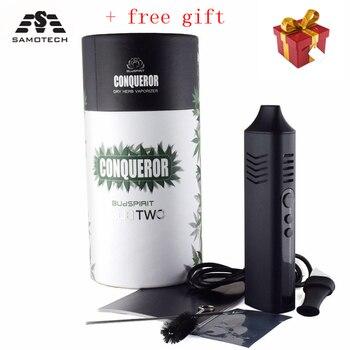 Conqueror Dry Herb Vaporizer Electronic Cigarette Kits 2200mah build-in Battery dry Herbal box mod  vape pen vapor kit