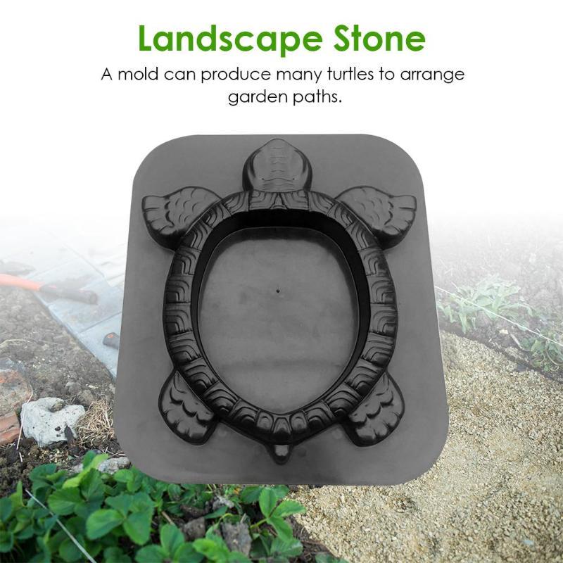 Image 5 - Path Maker Mold Reusable Concrete Cement Stone Design Garden Path  Paving Turtle Concrete Cement Mould Paver Walk Mould DIY DecorPaving  Molds