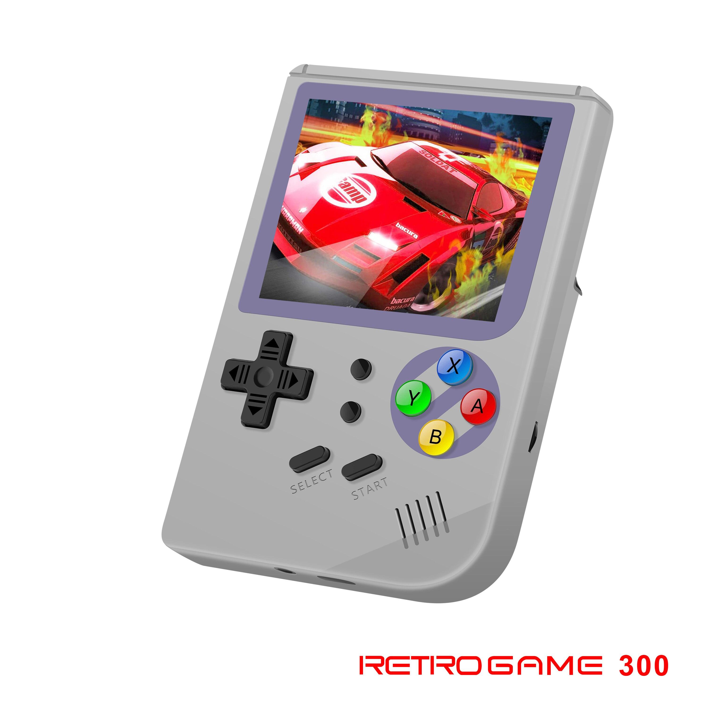 Электронные продукты машинное оборудование игровой плеер маленькая портативная игровая консоль RG300 встроенный 3000 игр лучший подарок для м
