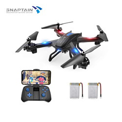 SNAPTAIN SE5CQ Drone Camera drone WiFi FPV 720P HD Voice control Gravity Sensor Function RTF Christmas Gift For Kid Beginner