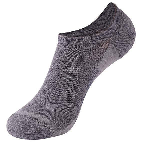 ZEALWOOD Unisex Merino Wool Anti-blister Cushion Hiking Socks