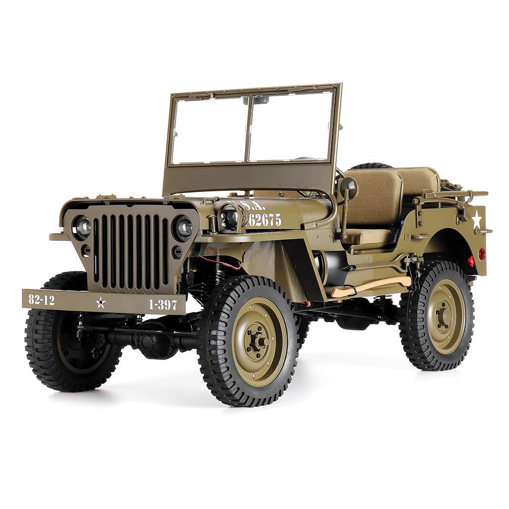 ROCHOBBY RC Car 1:6 2.4Ghz 2CH 1941 MB SCALER Radio Control Car Waterproof Vehicle Models Fully Proportional Toys for Kids