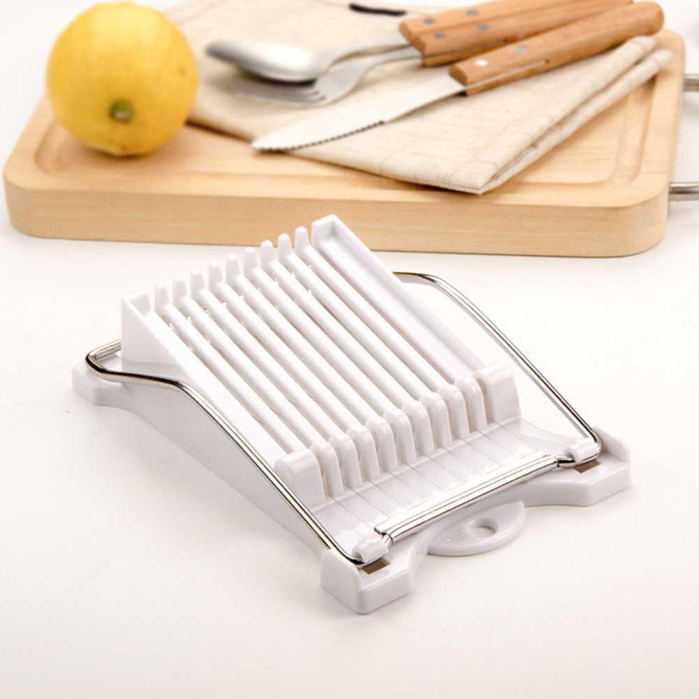 Stainless Steel Pisang Makan Siang Daging Slicer untuk Telur Lembut Makanan Keju Mentega Buah Cutter Kaleng Daging Slicer Dapur Gadget TSLM2