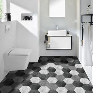10PCS Hexagonal Non Slip Floor