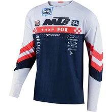 Camiseta de manga larga para ciclismo, maillot de Motocross, todoterreno, ATV, Mtb, DH, novedad de 2021