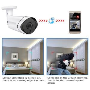 Image 3 - 5MP 3.0MP 2MP étanche en plein air IR coupe nuit Vision réseau de sécurité CCTV Onvif IP 48V POE H265 caméra Audio IOS/android vue