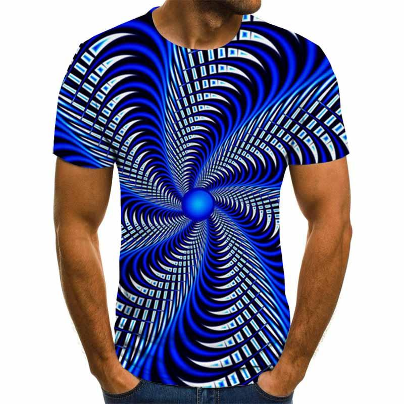 2020 новые носки с трехмерной аппликацией в виде футболка с принтом Мужские повседневные топы весело 3D мужская летняя футболка с О-образным в...